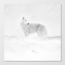 Paper Wolves Canvas Print
