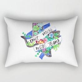 Don't Mess with Texas Rectangular Pillow