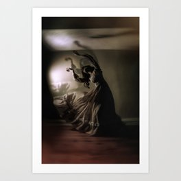 We Haunt Ourselves Art Print