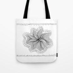Jellyfish Star I B&W Tote Bag