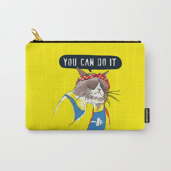 YOU CAN DO IT Carry-All Pouch