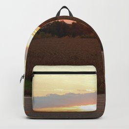 Country Morning Sunrise Backpack