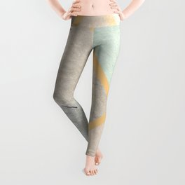 design in pastel tones -4b- Leggings