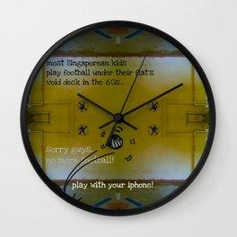 FOOTBALL? Wall Clock
