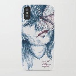 Augen-Schmetterling iPhone Case