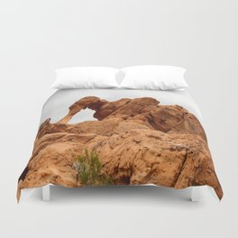 Elephant Rock - Valley of Fire Duvet Cover