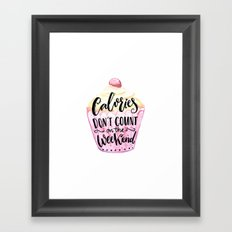 Colories Framed Art Print