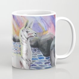 Llama Ness Monster Coffee Mug