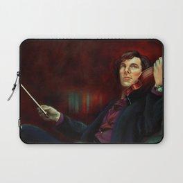 Sherlock: The Violin Laptop Sleeve