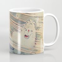 bleach Mugs featuring Mystical Horse by CrismanArt