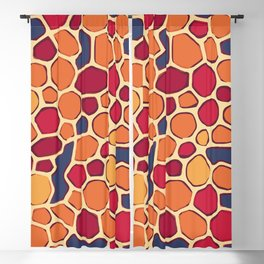 Geologica - Off Center Blackout Curtain
