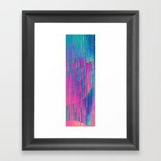 reign of glitch Framed Art Print