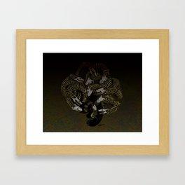 Lonely Hydra Framed Art Print