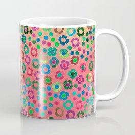 dp065-4 floral pattern Coffee Mug