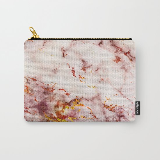 Marble Effect #4 Carry-All Pouch