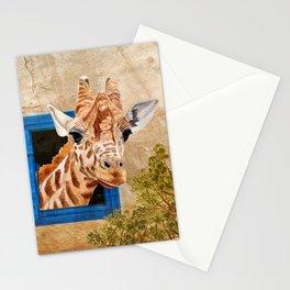 Suddenly A Giraffe Stationery Cards