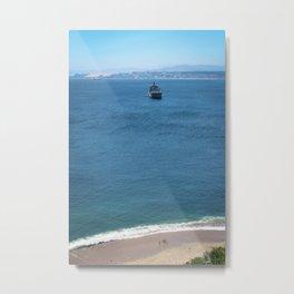 Mar de Valpo Metal Print