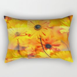 Flowertrickies ... Rectangular Pillow