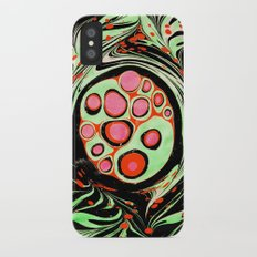 Psychedelic Circle iPhone X Slim Case