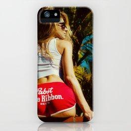 WHITE HOT AMERICA iPhone Case