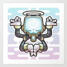CONNECT_Bot022 Art Print