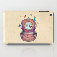 french iPad Cases featuring Inner Space by Terry Fan