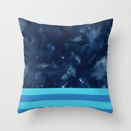 Abstract XIX Throw Pillow