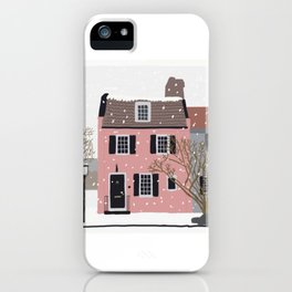 Snowy Day in Charleston iPhone Case