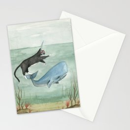 Millie and Her Whale Stationery Cards