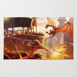 Dragon Siege Rug