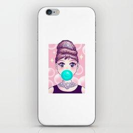 Kawaii Bubble Gum iPhone Skin
