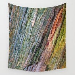 Water Colored Wood Texture Wall Tapestry