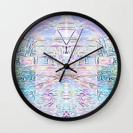 Light Cities of the New World Wall Clock