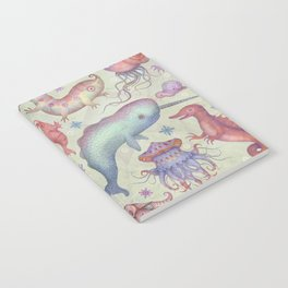 Creatures of the Deep Sea Notebook