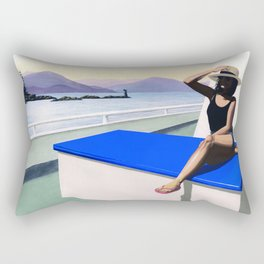 Leaving the Bay Rectangular Pillow