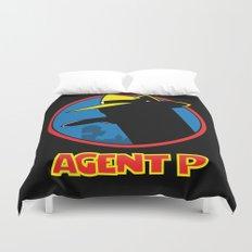 Agent P Duvet Cover