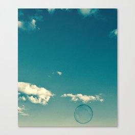 Soap Bubble Photography Canvas Print