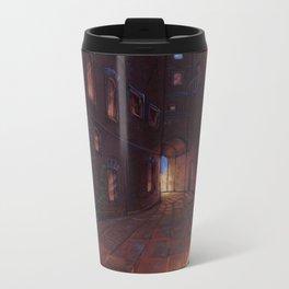An Alley In Tarbean Metal Travel Mug