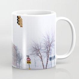 Snow NYC West Side Highway Coffee Mug