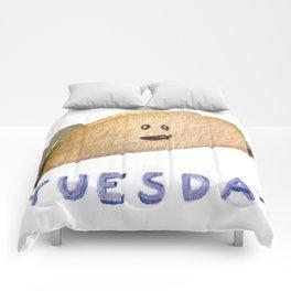 Taco Tuesday Comforters