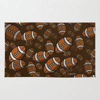 rugby Area & Throw Rugs featuring Rugby by joanfriends