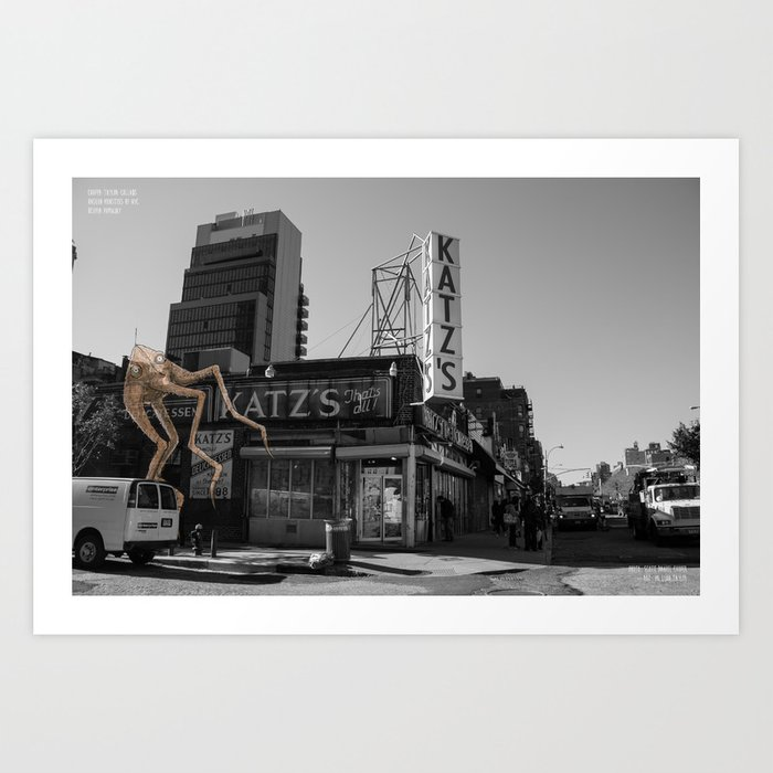 Unseen Monsters of New York - Ucopia Popinjay Art Print