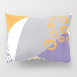 Triangles and sprinkles Pillow Sham