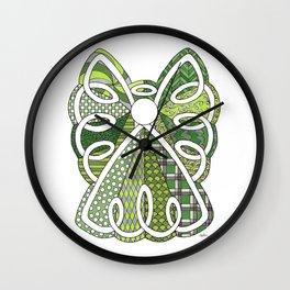 Lace Angel Wall Clock