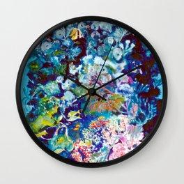 The Barrier Reef, AUSTRALIA               by Kay Lipton Wall Clock