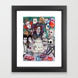La Fiesta de TIM Framed Art Print