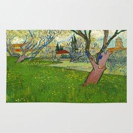 Vincent Van Gogh - View of Arles Rug