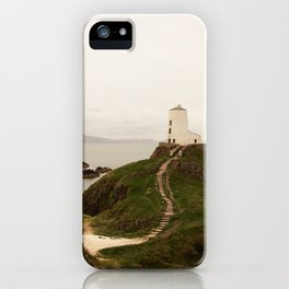 Tŵr Mawr Lighthouse iPhone Case