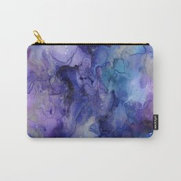 Watercolor Ink Abstract Carry-All Pouch