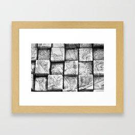 Cog Box Framed Art Print